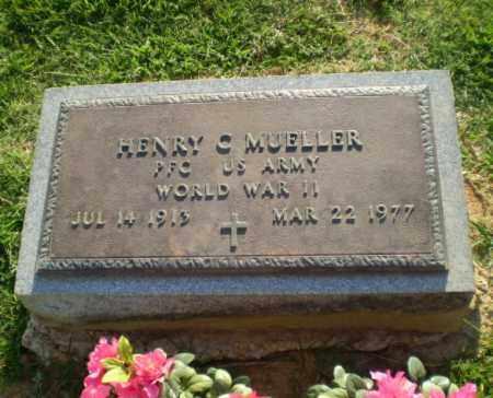 MUELLER  (VETERAN WWII), HENRY C - Greene County, Arkansas | HENRY C MUELLER  (VETERAN WWII) - Arkansas Gravestone Photos