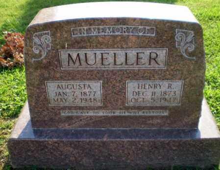MUELLER, HENRY R - Greene County, Arkansas | HENRY R MUELLER - Arkansas Gravestone Photos