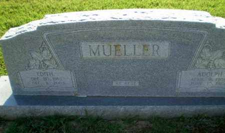 MUELLER, EDITH - Greene County, Arkansas | EDITH MUELLER - Arkansas Gravestone Photos