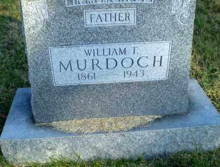 MURDOCH, WILLIAM T - Greene County, Arkansas | WILLIAM T MURDOCH - Arkansas Gravestone Photos