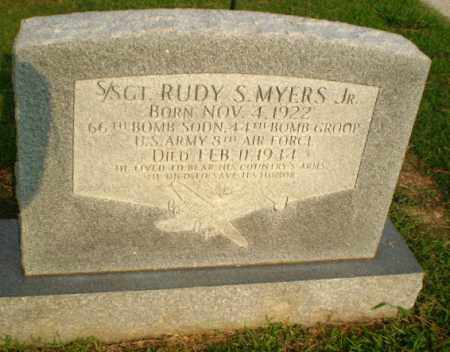 MYERS, JR  (VETERAN WWII), RUDY S - Greene County, Arkansas | RUDY S MYERS, JR  (VETERAN WWII) - Arkansas Gravestone Photos