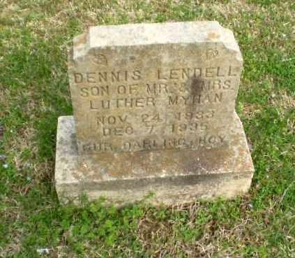 MYHAN, DENNIS LENDELL - Greene County, Arkansas | DENNIS LENDELL MYHAN - Arkansas Gravestone Photos
