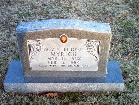 MYRICK, DOYLE EUGENE - Greene County, Arkansas | DOYLE EUGENE MYRICK - Arkansas Gravestone Photos