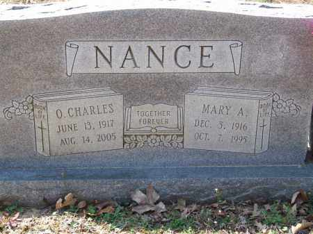NANCE, O. CHARLES - Greene County, Arkansas | O. CHARLES NANCE - Arkansas Gravestone Photos