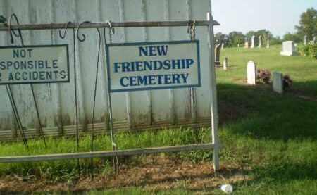 *NEW FRIENDSHIP CEMETERY SIGN,  - Greene County, Arkansas    *NEW FRIENDSHIP CEMETERY SIGN - Arkansas Gravestone Photos