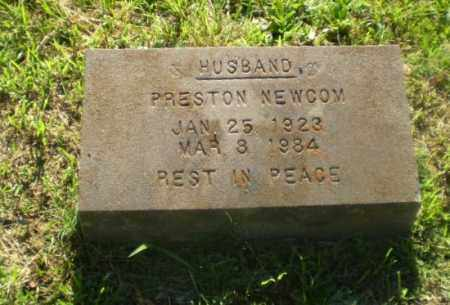 NEWCOM, PRESTON - Greene County, Arkansas | PRESTON NEWCOM - Arkansas Gravestone Photos