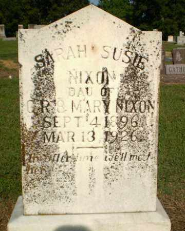 NIXON, SARAH SUSIE - Greene County, Arkansas | SARAH SUSIE NIXON - Arkansas Gravestone Photos