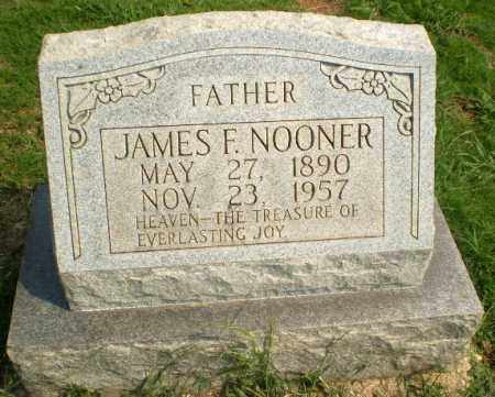 NOONER, JAMES F - Greene County, Arkansas | JAMES F NOONER - Arkansas Gravestone Photos