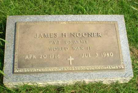 NOONER (VETERAN WWII), JAMES H - Greene County, Arkansas | JAMES H NOONER (VETERAN WWII) - Arkansas Gravestone Photos