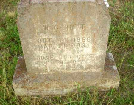 NUTT, W.G. - Greene County, Arkansas | W.G. NUTT - Arkansas Gravestone Photos