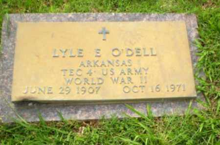 O'DELL  (VETERAN WWII), LYLE E - Greene County, Arkansas | LYLE E O'DELL  (VETERAN WWII) - Arkansas Gravestone Photos