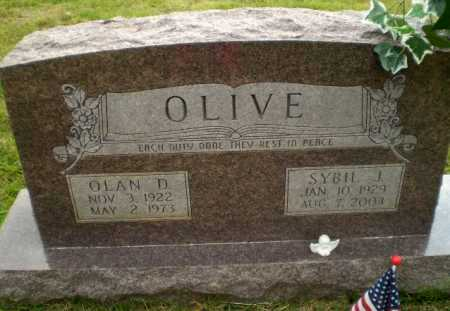 OLIVE, SYBIL J - Greene County, Arkansas | SYBIL J OLIVE - Arkansas Gravestone Photos
