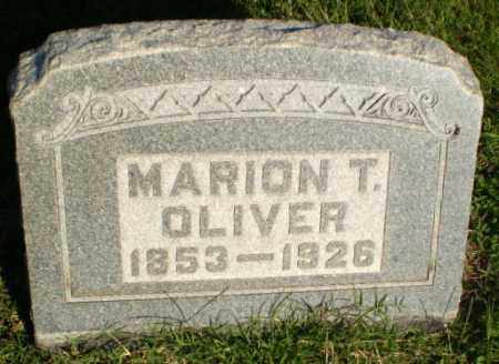 OLIVER, MARION T - Greene County, Arkansas | MARION T OLIVER - Arkansas Gravestone Photos
