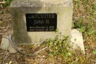 ORTCUTTER, JOHN H. - Greene County, Arkansas | JOHN H. ORTCUTTER - Arkansas Gravestone Photos