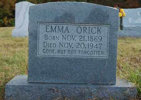 ORICK, EMMA - Greene County, Arkansas | EMMA ORICK - Arkansas Gravestone Photos