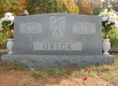 ORICK, IRA ELMER - Greene County, Arkansas | IRA ELMER ORICK - Arkansas Gravestone Photos