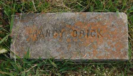 ORICK, NANCY - Greene County, Arkansas | NANCY ORICK - Arkansas Gravestone Photos