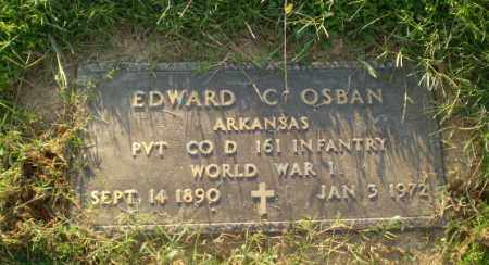 OSBAN  (VETERAN  WWI), EDWARD C - Greene County, Arkansas | EDWARD C OSBAN  (VETERAN  WWI) - Arkansas Gravestone Photos