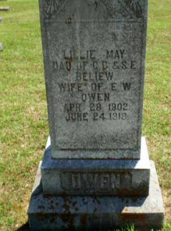 BELIEW OWEN, LILLIE MAY - Greene County, Arkansas | LILLIE MAY BELIEW OWEN - Arkansas Gravestone Photos