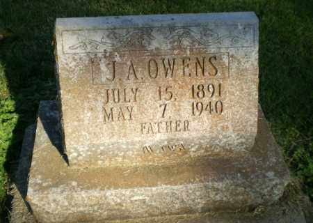 OWENS, J.A. - Greene County, Arkansas | J.A. OWENS - Arkansas Gravestone Photos