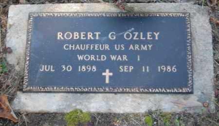OZLEY (VETERAN WWI), ROBERT G - Greene County, Arkansas | ROBERT G OZLEY (VETERAN WWI) - Arkansas Gravestone Photos