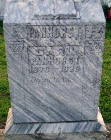 PANHORST, CARL - Greene County, Arkansas | CARL PANHORST - Arkansas Gravestone Photos
