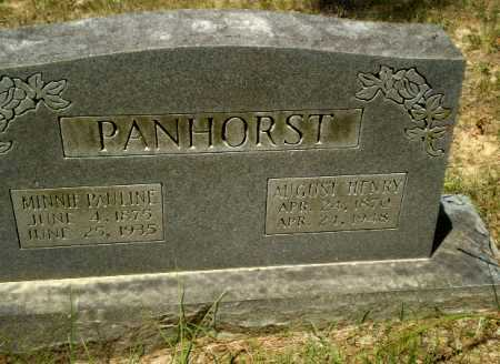PANHORST, AUGUST HENRY - Greene County, Arkansas | AUGUST HENRY PANHORST - Arkansas Gravestone Photos