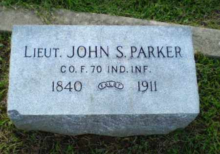 PARKER  (VETERAN UNION), JOHN S - Greene County, Arkansas | JOHN S PARKER  (VETERAN UNION) - Arkansas Gravestone Photos