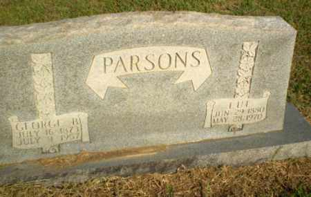 PARSONS, LUE - Greene County, Arkansas | LUE PARSONS - Arkansas Gravestone Photos