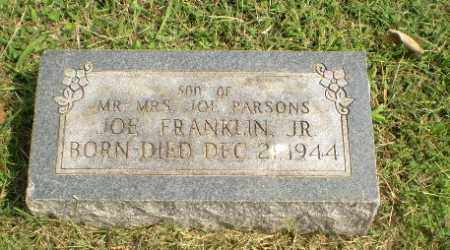 PARSONS, JOE FRANKLIN (INFANT) - Greene County, Arkansas | JOE FRANKLIN (INFANT) PARSONS - Arkansas Gravestone Photos