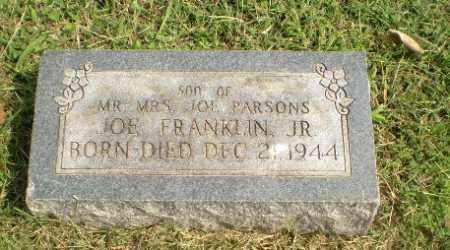 PARSONS, JOE FRANKLIN (INFANT) - Greene County, Arkansas | JOE FRANKLIN (INFANT) PARSONS - Arkansas Gravestone Photos