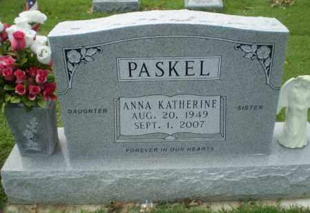 PASKEL, ANNA KATHERINE - Greene County, Arkansas | ANNA KATHERINE PASKEL - Arkansas Gravestone Photos