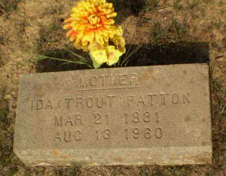 PATTON, IDA - Greene County, Arkansas | IDA PATTON - Arkansas Gravestone Photos