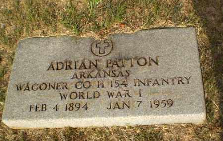 PATTON (VETERAN WWI), ADRIAN - Greene County, Arkansas | ADRIAN PATTON (VETERAN WWI) - Arkansas Gravestone Photos