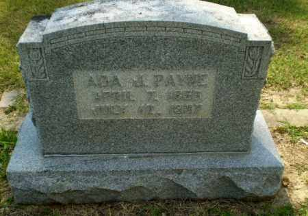 PAYNE, ADA J - Greene County, Arkansas | ADA J PAYNE - Arkansas Gravestone Photos