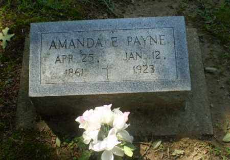 PAYNE, AMANDA E - Greene County, Arkansas | AMANDA E PAYNE - Arkansas Gravestone Photos