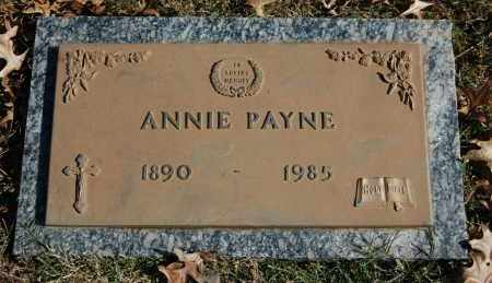 PAYNE, ANNIE - Greene County, Arkansas | ANNIE PAYNE - Arkansas Gravestone Photos