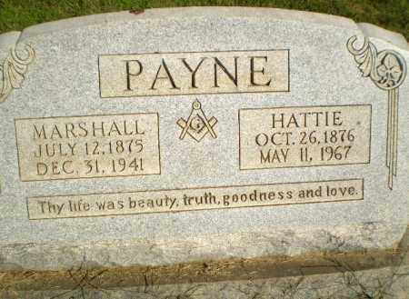 PAYNE, MARSHALL - Greene County, Arkansas | MARSHALL PAYNE - Arkansas Gravestone Photos