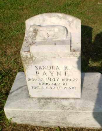 PAYNE, SANDRA K - Greene County, Arkansas | SANDRA K PAYNE - Arkansas Gravestone Photos