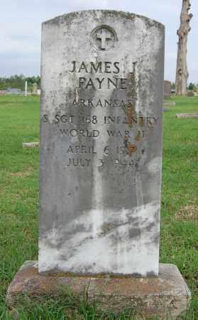 PAYNE (VETERAN WWII), JAMES J - Greene County, Arkansas | JAMES J PAYNE (VETERAN WWII) - Arkansas Gravestone Photos