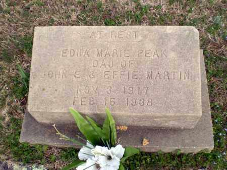PEAK, EDNA MARIE - Greene County, Arkansas | EDNA MARIE PEAK - Arkansas Gravestone Photos