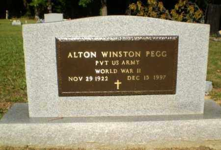 PEGG  (VETERAN WWII), ALTON WINSTON - Greene County, Arkansas | ALTON WINSTON PEGG  (VETERAN WWII) - Arkansas Gravestone Photos
