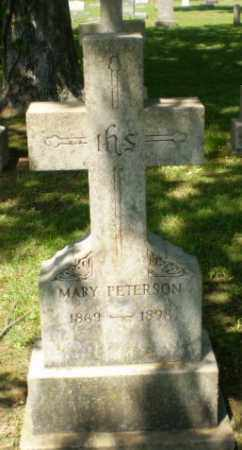 PETERSON, MARY - Greene County, Arkansas | MARY PETERSON - Arkansas Gravestone Photos