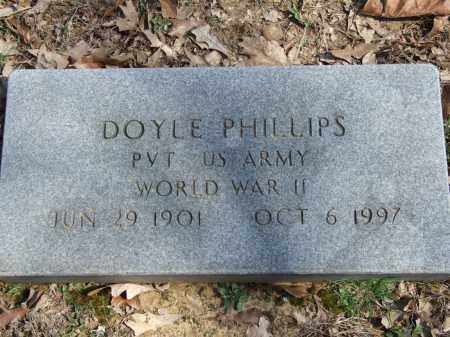 PHILLIPS (VETERAN WWII), DOYLE - Greene County, Arkansas | DOYLE PHILLIPS (VETERAN WWII) - Arkansas Gravestone Photos