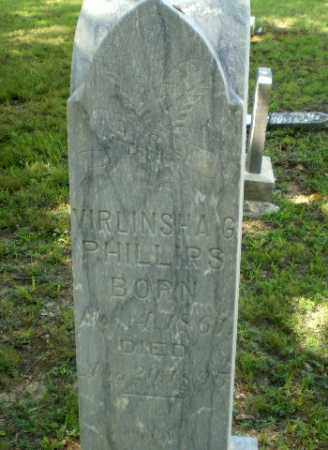 PHILLIPS, VIRLINSHA G - Greene County, Arkansas | VIRLINSHA G PHILLIPS - Arkansas Gravestone Photos