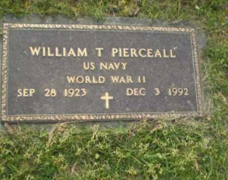 PIERCEALL  (VETERAN WWII), WILLIAM T. - Greene County, Arkansas | WILLIAM T. PIERCEALL  (VETERAN WWII) - Arkansas Gravestone Photos