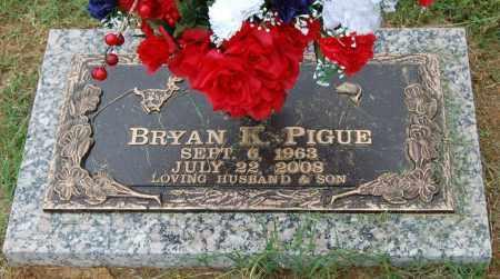 PIGUE, BRYAN K. - Greene County, Arkansas | BRYAN K. PIGUE - Arkansas Gravestone Photos