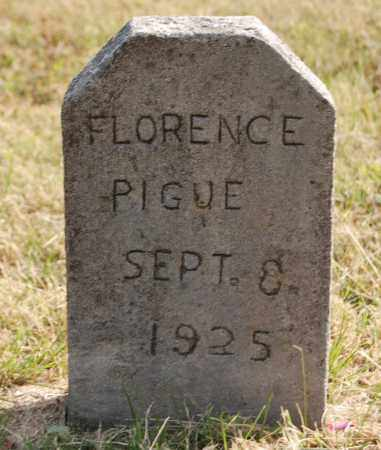 PIGUE, FLORENCE - Greene County, Arkansas | FLORENCE PIGUE - Arkansas Gravestone Photos