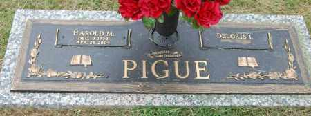 PIGUE, HAROLD M. - Greene County, Arkansas | HAROLD M. PIGUE - Arkansas Gravestone Photos