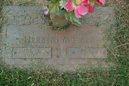 PIGUE, HERBERT M. - Greene County, Arkansas | HERBERT M. PIGUE - Arkansas Gravestone Photos